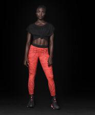NIKE pro jordan training leggings taille l noir rouge mix dri fit rare