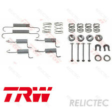 Rear Parking Brake Shoes Fitting Kit Accessory for Mitsubishi Citroen Peugeot