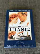 Titanic (DVD, 1997, 3-Disc Set, Collectors Edition/Widescreen)