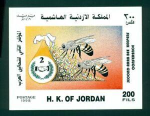 Jordan Scott #1608 MNH S/S Beekeeper's Conference CV$9+