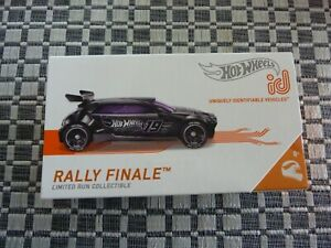 Hot Wheels ID Rally Finale Limited Run Collectible