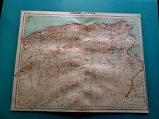 VOYAGES CARTE  DE L'ALGERIE ET TUNISIE      (C1)