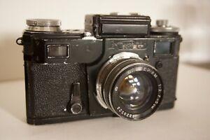kiev - 4  rangefinder camera with Jupiter 50mm f 2.0