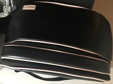 New Mary Kay Black & Pink Oval Shaped Consultant Travel Bag