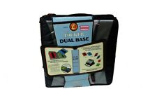 Case-it Locker Dual Base Binder With 2 x 1 1/2 Inch Rings with Add -ON Black