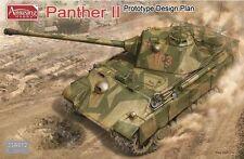 Amusing Hobby 35A012 1/35 German Panther II Prototype Design Plan