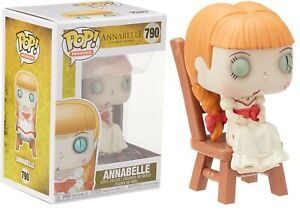Funko Pop! Movies: Annabelle Comes Home Annabelle In Chair #790 - Brand New