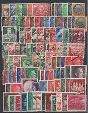 Deutsches Reich (1933 - 1945), 100 verschiedene Briefmarken ** / °