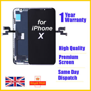 For iphone X Touch Screen Replacement LCD Digitizer Assembly BLACK
