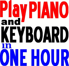 Beginners Complete Keyboard Music Book Learn to Play Piano FAST in 1 hour TODAY