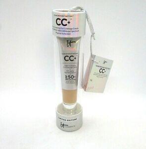 It Cosmetics CC+ Color Correcting Full Coverage Cream SPF50+ ~ Medium ~ 12 ml