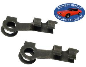 """Chrysler 5/32"""" Carburetor Throttle Rod Transmission Shifter Linkage Clips 2pc VP"""