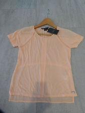 NWT Armani Exchange A|X T Shirt Top Coral Peach XXS / XS sz 123