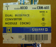 Square D 8030 CRM-601 Dual Interface Converter Module (DCIM) Ser A NEW