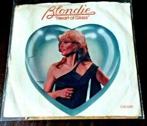 HEART OF GLASS // BLONDIE 1979 CHRYSALIS 45 SINGLE 2295 w/Picture Sleeve