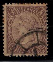 P130457/ SPAIN STAMP / Y&T # 78 USED CV 300 $