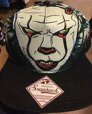 Pennywise IT THE CLOWN SnapBack Hat. Brand New. Original SnapBack. One Size Fits