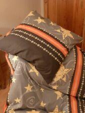 Bettwäsche 4 tlg.Winterjersey WINTERABEND 100% Baumw. 135x200,Kissen 80x80 cm