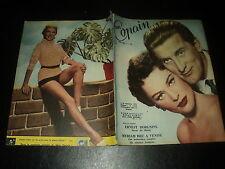 MON COPAIN 1955/38 (25/9/55) BELLA DARVI KIRK DOUGLAS PEGGIE CASTLE BARDOT