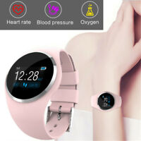 Women Waterproof Bluetooth Smart Watch Phone Mate For Android IOS iPhone Samsung