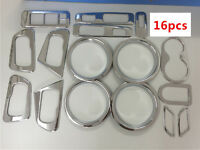 ABS Full Set Interior Decorative Accessories Covers Trim For Qashqai 2008-2013