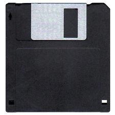 100 New Floppy Disks. Pro Quality 1.44MB IBM Format Diskettes DS/HD. Color:Black