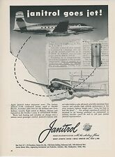 1949 Janitrol Aircraft Heater Ad Avro Jetliner Airliner Canada Aviation Airplane