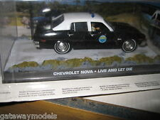 James Bond Chevrolet Diecast Cars