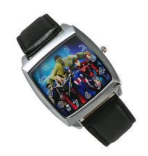 The Avengers Superhero  HULK Captain America Thor Watch Wrist FC2