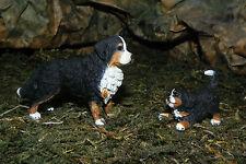Retired Bernese Mountain Dog Puppy Figurines Farm Schleich Nativity Scene Perro