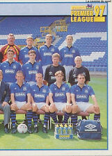 N°162 TEAM 2/2 EVERTON.FC STICKER MERLIN PREMIER LEAGUE 1997