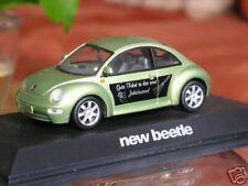 selten: Schuco Milleniums VW New Beetle in grünmetallic 1:43