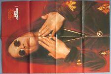 "Super-Poster: Ozzy Osbourne / Tommy Lee (Mötley Crue) aus ""Metal Edge"" 78x52 cm"