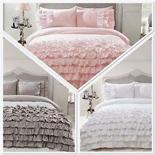 Belle Amie Flamenco Frills Duvet Quilt Cover Ruffles Bedding Set Inc Pillowcases