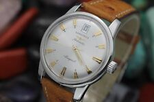 LONGINES Conquest Heritage L.1611.4 Automatic Stainless Steel Dress Watch w Card