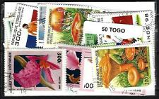 Togo 50 francobolli diversi