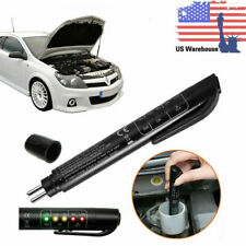 Brake Oil Fluid Tester 5 LED Moisture Liquid Tool Car Vehicle Test Indicator Pen
