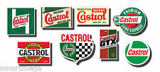 CASTROL WAKEFIELD ACEITE PARA MOTORES VINTAGE JUEGO DE PEGATINAS,8 Digitaly
