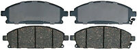 Disc Brake Pad Set-Ceramic Disc Brake Pad Front ACDelco Advantage 14D855ACH