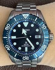 Seiko Prospex 200M Titanium Solar Blue Ref. SBDJ011