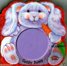 CUDDLY BUNNY Touch-n-Feel Soft & Furry Pot-Bellied Buddies Board Book Ages 3+