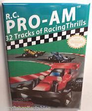 "Rc Pro Am Nintendo Nes Vintage Game Box 2"" x 3"" Refrigerator Locker Magnet"