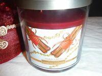 Yankee Candle Sparkling Cinnamon 11.5 oz medium jar wax candle new Gift package