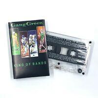 GANG GREEN King Of Bands Cassette Tape 1991 Hardcore Punk Rare