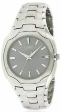 Citizen Eco-Drive Men's BM6010-55A Dress 180PR Stainless Steel Gray Dial Watch