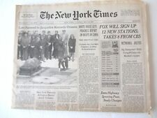 Jackie Kennedy Funeral New York Times 5/24/94 VF cond.