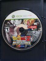 Dragon Ball Z Burst Limit (Microsoft Xbox 360, 2008) Disc Only