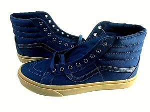 Vans SK8-Hi Reissue Men's High-Top Trainers Blue Shoes Size 13 M VN-0A2XSBLWC