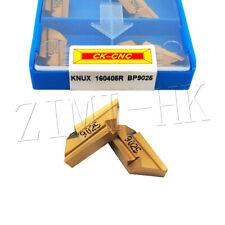 10P KNUX 160405R BP9025 carbide inserts KNUX milling cutter insert Cutting tool