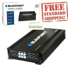 NEW BLAUPUNKT AMP1504 CAR AUDIO 4-CHANNEL AMP Subwoofer Amplifier 1500W MAX PEAK